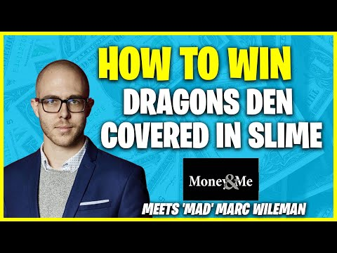 How Mad Marc Wileman Won Dragons Den And Inspired A Million Kids With Science While Covered In Slime