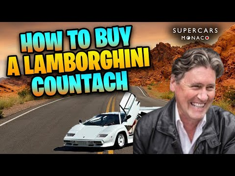 How To Buy A Lamborghini Countach