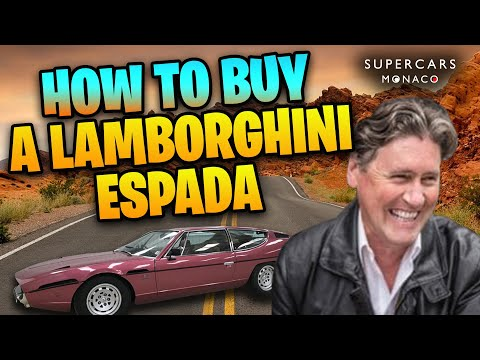 How To Buy A Lamborghini Espada