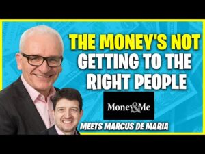 The money's not getting to the right people